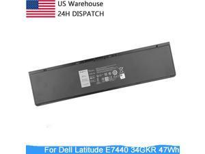 NEW DELL Laptop Battery for Dell Latitude E7440 E7450 E7420 Battery fit 451-BBFV 3RNFD G0G2M PFXCR T19VW 34GKR 0909H5 0G95J5 E225846 Notebook Battery