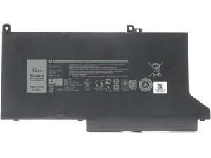 New DELL DJ1J0 Laptop Battery Replacement for Dell Latitude 7280 7290 E7280 E7290 7380 7390 E7380 E7390 7480 7490 E7480 E7490 Series Notebook PGFX4 ONFOH 451-BBZL 11.4V 42Wh