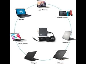 USB-C AC Adapter for Lenovo Chromebook C330 C630 L380 100e 300e 500e Charger 45W