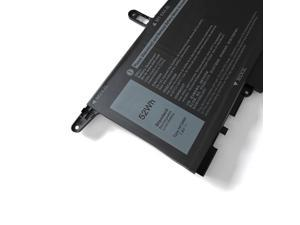 OEM NF2MW Laptop Battery Replacement for Dell Latitude 7400 2-in-1 Series Notebook 7146W 085XM8 08W3YY 0C76H7 C76H7 0G8F6M 7.6V 52Wh