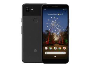 Google Pixel 3A - 64GB - Black - Fully Unlocked - Android Smartphone (Good Condition, Screen Shadow/Burn)
