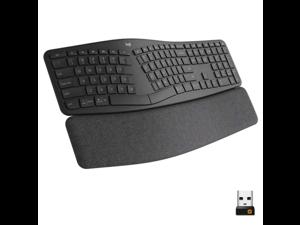 Logitech ERGO K860 Wireless Waveform Keyboard - Black - Grade A
