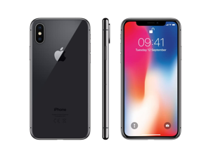 Apple iPhone X - 64GB/256GB - Space Gray / Silver - GSM Unlocked - AT&T/T-Mobile/Global - Smartphone - Grade C