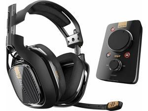 Astro A40 TR Wired Gaming Headset + MixAmp Pro TR -  Black - PlayStation 4 / PC / Mac - Grade A