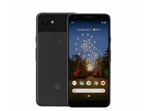 Google Pixel 3A - 64GB - Just Black - Fully Unlocked - AT&T / T-Mobile / Verizon / Global - Smartphone - Grade A (Screen Shadow)