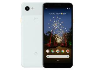 Google Pixel 3a XL - 64GB - Clearly White - Fully Unlocked - AT&T / T-Mobile / Verizon / Global - Smartphone - Grade B (Screen Shadow)