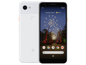 Google Pixel 3A XL - 64GB - Clearly White - Fully Unlocked - (Single SIM) - Smartphone - Grade A