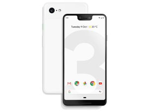 Google Pixel 3 - 64GB - Clearly White - Fully Unlocked - VZW/T-Mobile/Global - Android Smartphone - Grade B (LCD Shadow)