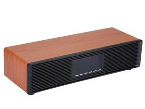 PhasetechBluetooth Speakers, 30W Loud Wood Home/Outdoor Wireless Speaker, Dual mid-to-high audio speakers, dual bass diaphragmsSuper Bass Stereo Sound,Bluetooth V5.0  Large Capacity Battery