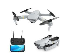 Eachine E58 PRO WIFI FPV With 120° FOV 1080P HD Camera Adjustment Angle High Hold Mode Foldable RC Drone Quadcopter RTF-One Battery/With Storage Bag