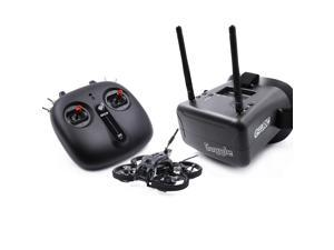 GEPRC TinyGO 1.6inch 2S 4K Caddx Loris FPV Indoor Whoop+GR8 Remote Controller+RG1 Goggles RTF Ready To Fly FPV Racing RC Drone-Mode 2 (Left Hand Throttle)