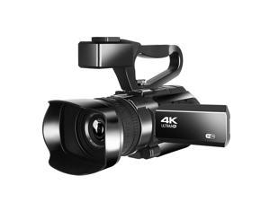 KOMERY RX100 4K Ultra HD 48MP Camcorder Video Camera for YouTube Live Streaming 30X Digital Zoom IR Night Vision Wifi APP Control 3.0 inch Touch Screen with Fill Light Microphone