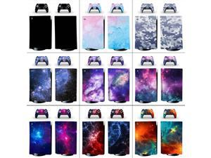 Stickers Skin For Playstation 5 PS5 with Ultra HD Blue-Ray Disc Drive Version Game Console Controller Gamepad Skins