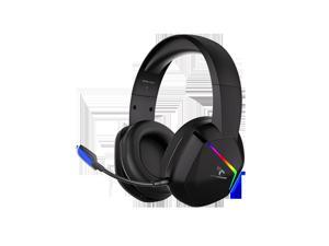 SOMiC GS401 2.4G Wireless Gaming Headset with Microphone Virtual 7.1 Sound Game/Live/Video 3 Mode 8-10 Hours Playtime for PS5/4 Computer Gamer-2.4G Version