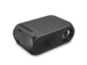 YG320 TFT LCD Projector HD 1080P LED Projector Multiple Ports Built-in Speaker Portable Smart Home Theater Projector with Remote Control