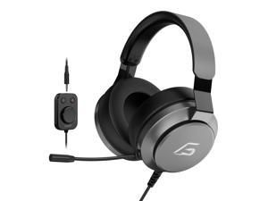 IFORGAME G300 Gaming Headset, 7.1 Virtual Surround Sound, Noise Cancelling, Adjustable Headband, USB/3.5mm Connector Circumaural Wired Gaming Headset for PC/Switch/Xbox/PS4/Mobile Devices