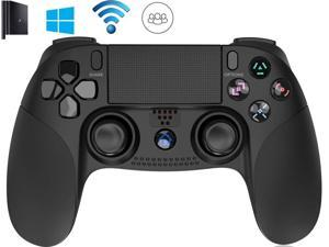 PS4 Controller, Touch Panel, Antiskid Marks, LED, Wireless Bluetooth Game Handle for PS4/PS3