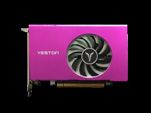 Yeston AMD Radeon RX 550 Graphics Card(FAST SHIPPING within 7-9 DAYS), 4 HDMI, 2GB 128-Bit GDDR5 PCI Express 3.0 x 8, DirectX 12, OpenGL 4.5, Desktop GPU, 4-Screen Output GPU, Low Profile Video Card