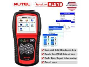 AL519 OBD2 CAN Scanner Tool Multilingual