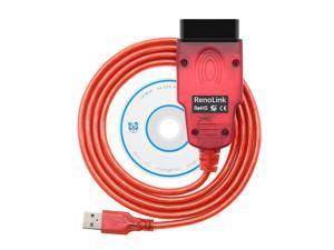 Renolink OBD2 for Renault ECU Programmer V1.87 red