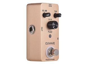 CUVAVE FUZZ Vintage Fuzz Guitar Effect Pedal Zinc Alloy Shell True Bypass Parts