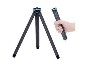 koolehaoda Portable Carbon Fiber Mini Tripod,Weighs only100g and Loads up to 18 pounds(SM-D18 Mini Tripod)