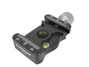 Koolehaoda Screw Knob Quick Release Plate Clamp Adapter with Bottom AS Standard Dovetail fit Arca Swiss Tripod or Monopod Head (DE-38)