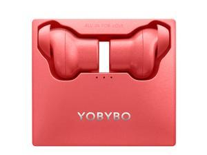 Note 20 TWS Wireless Earbuds  Bluetooth 5.0 Touch control headset Most Design-conscious Thin funny interesting  earphone Automatically pairing Wireless charging function - Red