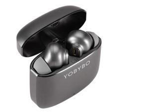 ZIP20 Dual-mic Noise Reduction True Wireless Earbuds, Bluetooth 5.2, Qualcomm 3040 chip, CVC8.0 aptX High-definition Sound Quality, 33H of Playback Time,for Working Traveling Gym