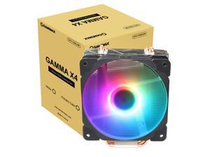CPU Fans Heatsinks Air Cooler,120mm PWM  CPU Processor  Cooling Fan & 3 Direct Contact CPU Heatsink Pipes Support Intel i3/i5/i7,LGA 775/1150/1151/1155/1156/1366,AMD CPU Addressable RGB Lights