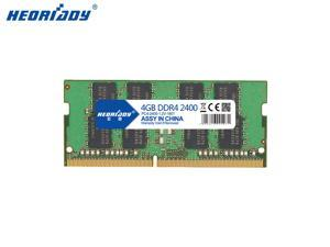Heoriady DDR4 4GB Memory 2400mHZ PC4-19200 260pin 1.2V CL17 SO-DIMM Laptop Memory Notebook RAM for Intel AMD System Laptop Computer