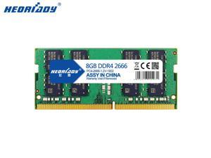 Heoriady DDR4 8GB Memory 2666mHZ PC4-21300 260pin 1.2V CL19 SO-DIMM Laptop Memory Notebook RAM for Intel AMD System Laptop Computer