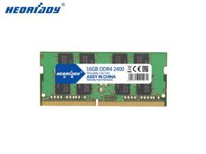 Heoriady DDR4 16GB Memory 2400mHZ PC4-19200 260pin 1.2V CL17 SO-DIMM Laptop Memory Notebook RAM for Intel AMD System Laptop Computer