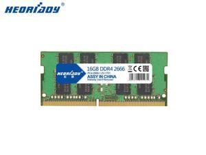 Heoriady DDR4 16GB Memory 2666mHZ PC4-21300 260pin 1.2V CL19 SO-DIMM Laptop Memory Notebook RAM for Intel AMD System Laptop Computer