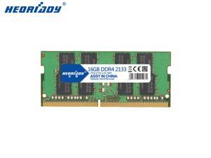 Heoriady DDR4 16GB Memory 2133mHZ PC4-17000 260pin 1.2V CL15 SO-DIMM Laptop Memory Notebook RAM for Intel AMD System Laptop Computer