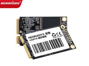 Heoriady mSATA SSD 1.8 in SSD mSATA Interface SSD 128GB 256GB 512GB Internal Solid State Drive Hard Disk 6GB/S Mini Sata SSD Disk for Notebook Ultrabook(128GB 1PCS)