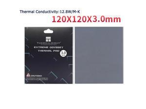 Thermalright  Extreme Odyssey Thermal Pad 12.8 W/mK Non Conductive Heat Resistance High Temperature Resistance  Suitable for Desktop Laptop Heatsink/GPU/CPU/LED Cooler 120x120x3.0mm