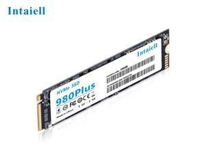 Intaiell 980Plus NVMe M.2 PCIE Gen3 x 4 TLC 128GB 256GB 512GB 1TB High Performance Internal Solid State Drive For Gaming Desktop Notebook SSD(Nvme 256GB)