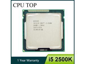Intel Core i5 2500K Processor Quad-Core 3.3GHz LGA 1155 TDP 95W 6MB Cache With HD Graphics Desktop CPU