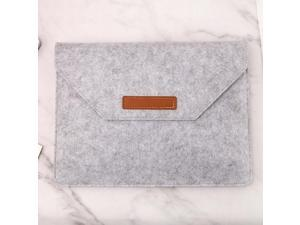 Portable Sleeve Case Felt Carrying Protective Bag Pouch for 15.4 Inch Devices