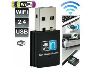 USB WiFi Adapter 300Mbps Mini USB Wireless LAN Network Card 2.4GHz WiFi Dongle