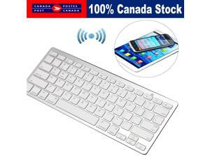 NEW SLIM WIRELESS BLUETOOTH KEYBOARD FOR IMAC IPAD ANDROID PHONE TABLET PC CA