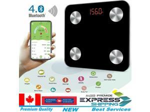 Body Fat Bathroom Weighing Scales Digital BMI Smart Bluetooth Weight