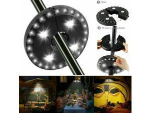 Umbrella Lights Outdoor Garden Camping Lights for 28 LEDs 3 Modes Parasol Light