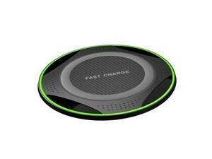 Ultra Slim Wireless Charger 10W Max Fast Charging Pad Compble Galaxy Not 10
