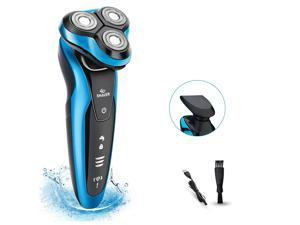 Electric Shavers for Men Rechargeable Cordless Dry Beard Nose Hair Face Razor