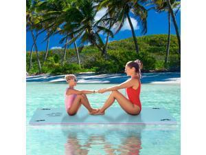 10x5ft Flong Mat Water Mattress Lake Pool Island Outdoor Sport