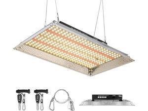 1500W Dimmable Full Spectrum LED Grow Light Lamp Aluminum Reflector