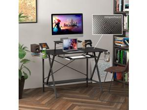 Vitesse 55 T Shaped Computer Gaming Desk With Free Large Mouse Pad Newegg Com