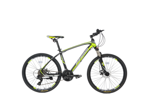 """26"""" Aluminum Mountain Bike 24 Speed Mountain Bicycle with Suspension Fork Advanced Ergonomic Red Color"""
